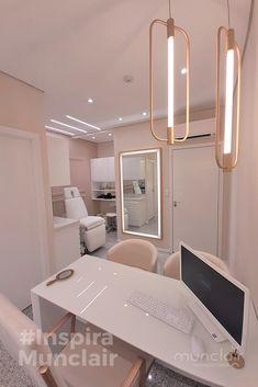 Clinic Interior Design, Clinic Design, Home Office Design, Home Office Decor, Medical Office Design, Spa Room Decor, Beauty Room Decor, Home Beauty Salon, Beauty Salon Decor