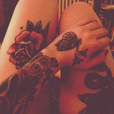 Old school tattoos. #tattoo #tattoos #ink