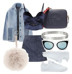 """""""#Look:#333"""" by dollarwomanlux ❤ liked on Polyvore featuring Burberry, Gucci, Michael Lo Sordo, adidas Originals, Fendi and Cartier"""