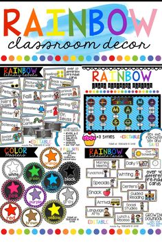 RAINBOW BRIGHTS Deco