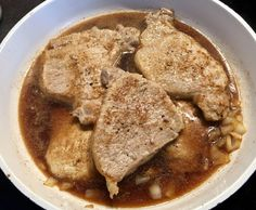 Schab duszony w sosie węgierskim - Blog z apetytem Coleslaw, Thai Red Curry, Hummus, Pork, Ethnic Recipes, Blog, Kale Stir Fry, Coleslaw Salad, Blogging