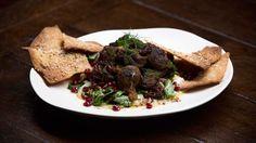 Braised Beef Shin with Smoked Eggplant Yoghurt and Tabouli, Matt, Australian Master Chef