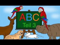 ABC Lied - Buchstaben lernen von M-R - Alphabet - Kinderlieder deutsch - Phonics song - YouTube