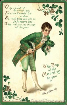 The Top of the Morning to You on St. Patrick's Day