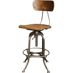 Vintage Industrial Toledo Bar Stool Original And Made In Usa Get with regard to Industrial Bar Stools With Backs