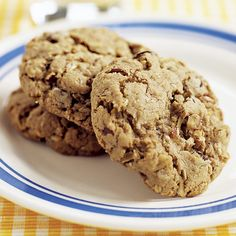 Chocolate Oatmeal Cookies - Cook's Country...We've had some good chocolate oatmeal cookies, but we wanted a recipe that made perfect chocolate oatmeal cookies. To achieve this, we replaced a portion of the flour in our recipe w/fine-ground oats for fuller flavor. And for rich chocolate flavor, we whipped melted milk chocolate into the batter along w/semisweet chocolate. Finally, light brown sugar ensured our recipe produced a chewy texture w/slight caramel undertones.