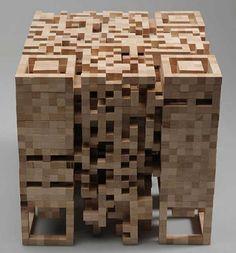 mathematical sculpture wood - Google Search