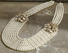 amazing pearls by Chanel