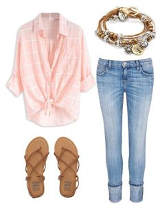 """""""Beach date"""" by alexaxbrun ❤ liked on Polyvore featuring Billabong, Current/Elliott and Lizzy James"""