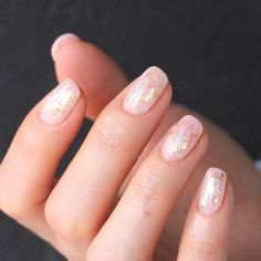 Glass Nail Art Is Still the Latest Korean Beauty Craze You Need to Try