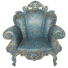 Armchair the Proust by Alessandro Mendini.