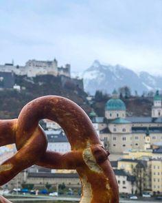 with a view in  Weekender, Wanderlust, Travel Goals, Tourism, Travel Photography, Vacation, Pretzel, World, Austria