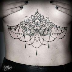 Lotus Chandelier Tattoo