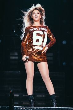 Style File - Beyoncé in Tom Ford