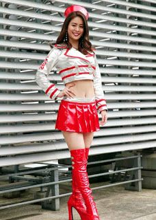 Grid Girls, Cute Girl Outfits, Sexy Outfits, Asian Woman, Asian Girl, Pvc Hose, Promo Girls, Teen Girl Poses, Promotional Model