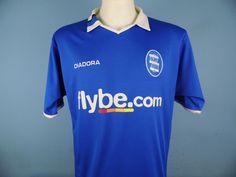 Authentic Birmingham City 2004-05 Home Shirt Size Medium Diadora Flybe.com