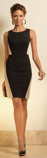 Sophisticated Ponte Dress