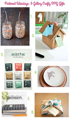 Pinterest Saturdays: 6 Getting Crafty DIY Gifts | Style for a Happy Home