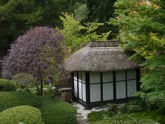 ... of the entrance path to the Japanese Garden at Tatton Park, Cheshire