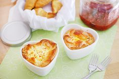 These individual soufflés are baked to perfection with a gooey, cheesy center surrounded by a crispy, flakey outer shell. Get the recipe from: Blue Bonnet Baker. - CountryLiving.com