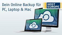 Dein Online Backup für PC, Laptop und Mac von Host Europe: https://www.hosteurope.de/Online-Backup/  #OnlineBackup by #HostEurope (#Host #Europe)