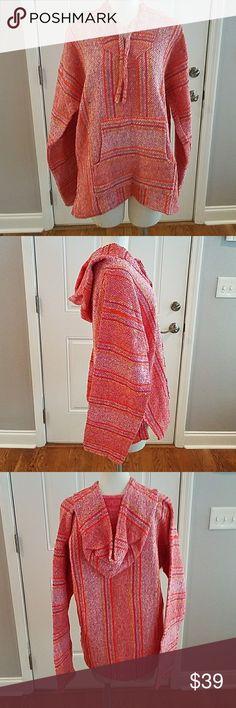 Mexican Baja Hoodie New Mexican Baja Hoodie Size Large Tops Sweatshirts & Hoodies