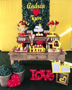Decoração de chá de panela: 80 ideias e tutoriais para celebrar o amor Baking Party, Party Time, Wedding Inspiration, Birthday Cake, Invitations, Babyshower, Lingerie, House, Instagram