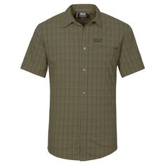 Jack Wolfskin Men's Rays Stretch Vent Shirt * Discover this special product, click the image : Hiking clothes Hiking Clothes, Man Ray, Camping And Hiking, Burns, Stretches, Men Casual, Awesome, Check, Mens Tops