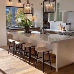 Kitchen Design, Houses, Cooking, Table, Inspiration, Furniture, Home Decor, Open Kitchen Shelving, Pantries