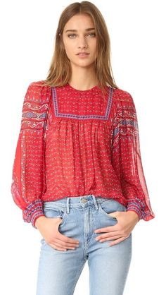 Ulla Johnson Minou Blouse | SHOPBOP