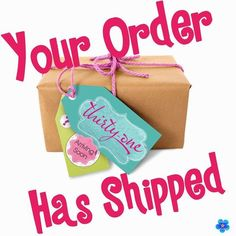"Your order has shipped. <a class=""pintag searchlink"" data-query=""%23ThirtyOne"" data-type=""hashtag"" href=""/search/?q=%23ThirtyOne&rs=hashtag"" rel=""nofollow"" title=""#ThirtyOne search Pinterest"">#ThirtyOne</a> <a class=""pintag searchlink"" data-query=""%23ThirtyOneGifts"" data-type=""hashtag"" href=""/search/?q=%23ThirtyOneGifts&rs=hashtag"" rel=""nofollow"" title=""#ThirtyOneGifts search Pinterest"">#ThirtyOneGifts</a> <a class=""pintag searchlink"" data-query=""%2331Party"" data-type=""hashtag"" href=""/search/?q=%2331Party&rs=hashtag"" rel=""nofollow"" title=""#31Party search Pinterest"">#31Party</a>…"