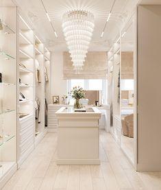 Walk In Closet Design, Bedroom Closet Design, Closet Designs, Home Room Design, Dream Home Design, Home Interior Design, Bedroom Decor, House Design, Modern Luxury Bedroom