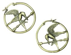 """The Hunger Games Movie Earrings Hoop """"Mockingjay"""" NECA. $14.11. From Lionsgate Film. High Quality form NECA. Based on the Best Seller Book. The highly anticipated movie!. Great gift for the Holiday"""