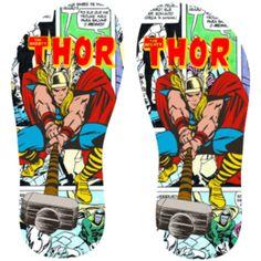Estampa para chinelo Thor 001130