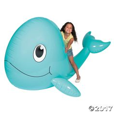 Giant Inflatable Whale