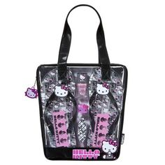 Hello Kitty Pedicure Set with Tote - 7 piece set I want this! Too cute!