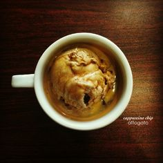 affogato - nothing better than the bitterness of espresso poured over creamy, sweet ice cream