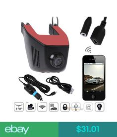 Digital Video Recorders, Cards 1080P Hd Hidden Wifi Car Dvr Video Vehicle Camera Recorder Dash Cam #ebay #Electronics