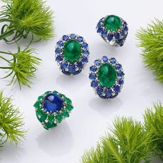 Schreiner Fine Jewellery. Sense the Woods with our 'Green Forest' Collection…