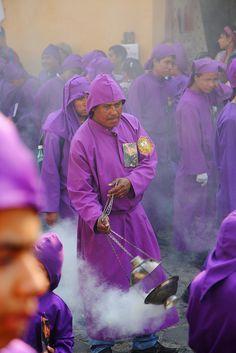 Antigua-Processione Semana Santa