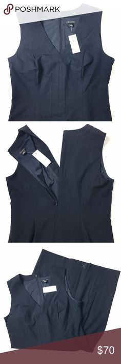 Ann Taylor Dress Ann Taylor new navy dress in a size 6. Contains original tags. Retail $139. Ann Taylor Dresses