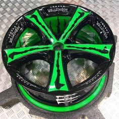 RIMS added a new photo. Monster Energy Girls, Love Monster, Rims And Tires, Rims For Cars, Motocross, Triumph Motorcycles, Hydro Graphics, Ducati, Pink Rims
