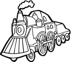 find this pin and more on trains coloring pages