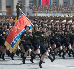 north korean army girls - Google Search