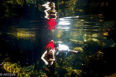 Trash The Tress photo shooting at Cenote-Riviera Maya トラッシュザドレス_セノーテ_リビエラマヤ AkiDemi Photography www.akidemi.com