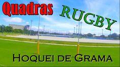 Quadras Rugby e Hoquei de grama
