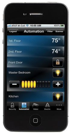 Home Automation from Honeywell- All at the tips of your fingers, wherever you are! #homeprotectiontips #homeautomationtips