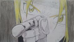 Edward Elric (FMA Brotherhood) by MertOzel.deviantart.com on @deviantART