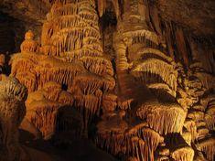 The Jeita Grotto Limestone Caves in Lebanon