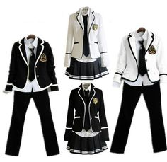 children's school uniform clothing and long sleeved chorus of primary school students reading British japanese school uniforms Casual Cosplay, Cosplay Outfits, Anime Outfits, Old Fashion Dresses, Fashion Outfits, School Uniform Outfits, School Uniforms, Pretty Outfits, Cool Outfits